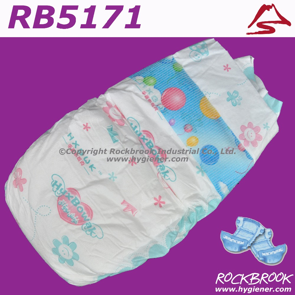 High Quality Disposable Baby Diaper in Guangzhou Baby Diaper Pants Factory