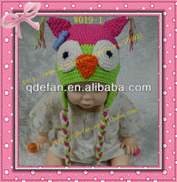 2013 new pattern cute handmade crochet baby beanie animal hat for sale and wholesale