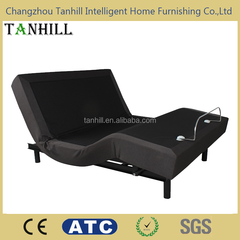 2016 popular king size adjustable bed remote control headboard
