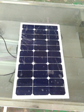Cheap And High Quality 50Watt Semi Flexible Solar Panel Sunpower Solar Cell Cutting Solar Panel Without Frame