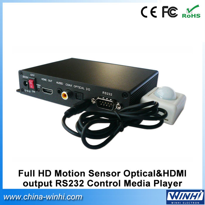 Hot sale Optical&HDMI output RS232 made in china iptv box watch free online movies f10 mini full hd 1080p usb fhd media player