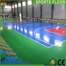 Flexible Price pp interlocking professional basketball court,portable indoor basketball court material