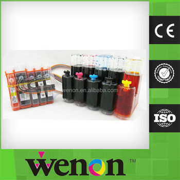 new ciss ink system for HP670 HP655 HP685 ciss with chip show ink level