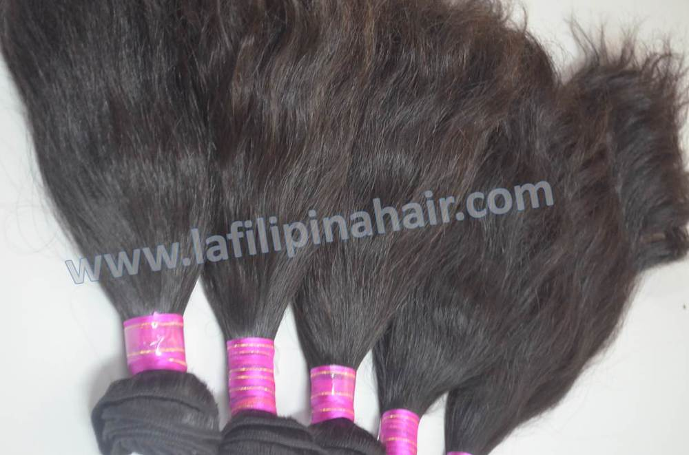Look Spectacular, Natural Soft wave hair extension 100% Filipino human hair made in Philippines