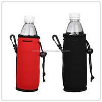 500ML (16OZ)Collapsible Neoprene Water Bottle Drawstring Cooler Water Insulator/Holder for Outdoor/Picnic/Sport