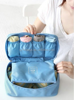 2014 New Women's Beautician Bra/Underwear Organizer Bags Traveling Bag Cosmetic Cases Makeup Bag(HC-A596)