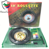 10 inch Professional Cheap Plastic Casino Roulette Wheel Poker Game Set