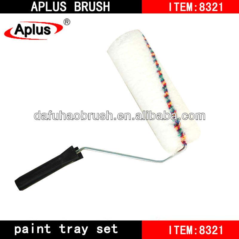 Rubber Pattern Decorative Paint Roller Brush
