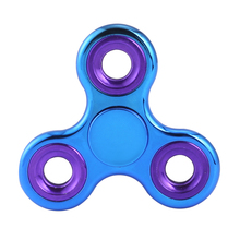 Wholesale Colorful Fidget Hand Spinner, Tri-spinner Fidget Toy