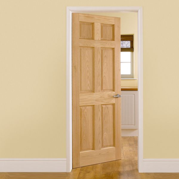 Simple design popular product hot sale wood door for house