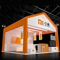 Detian Offer booth design for shanghai fair expo stand show exhibition stand booth