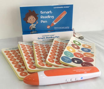 OEM Talking Pen for pre-school language learning Educational toys