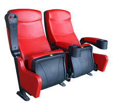 Popular Design Fixed Cinema Film Chairs With Cup Holders