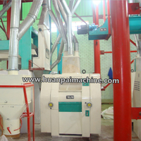 100TPD roller wheat flour mill complete plant