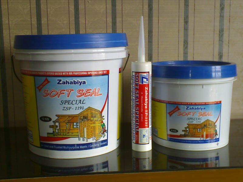 Zahabiya Soft Seal Special ZSP-1191 Acrylic Caulking Sealant