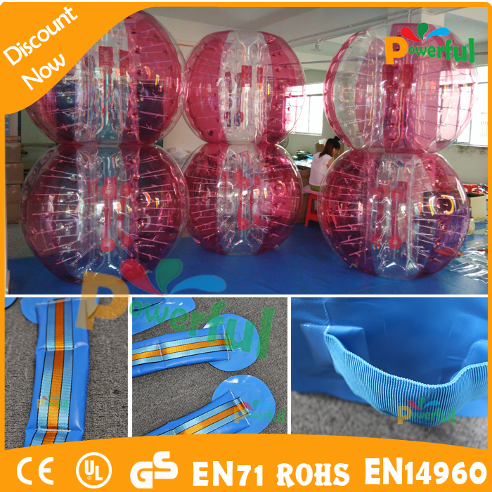 crazy sport!!! newly style body bubble bumper ball
