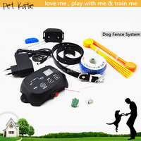 Functional Electric Dog Training Collars with Wires Pet Fence