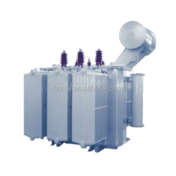 11KV 30KVA to 1.6MVA Capacity Electrical Oil Immersed Distribution Transformer