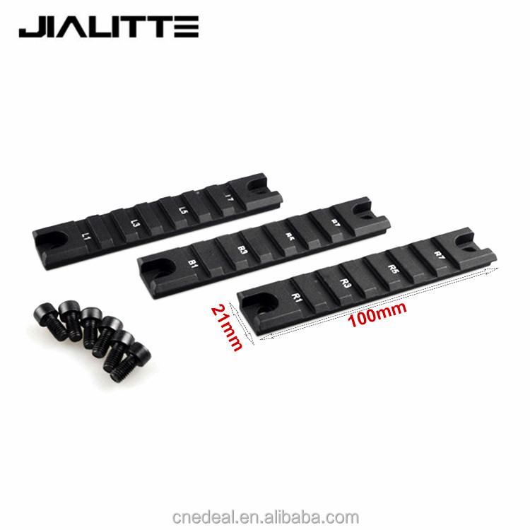 Jialitte Tactical Picatinny Short Gun Rail for Hunting Rifles G36 G36K scope mounts 20mm Extensible Scope Bases Mount J086