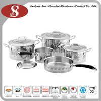 China product flower cookware set
