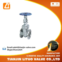 russian standard electric actuated cast steel flat plate gate valve