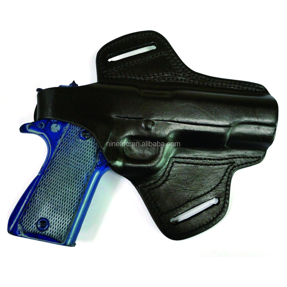 Customized genuine leather glock 19 holster