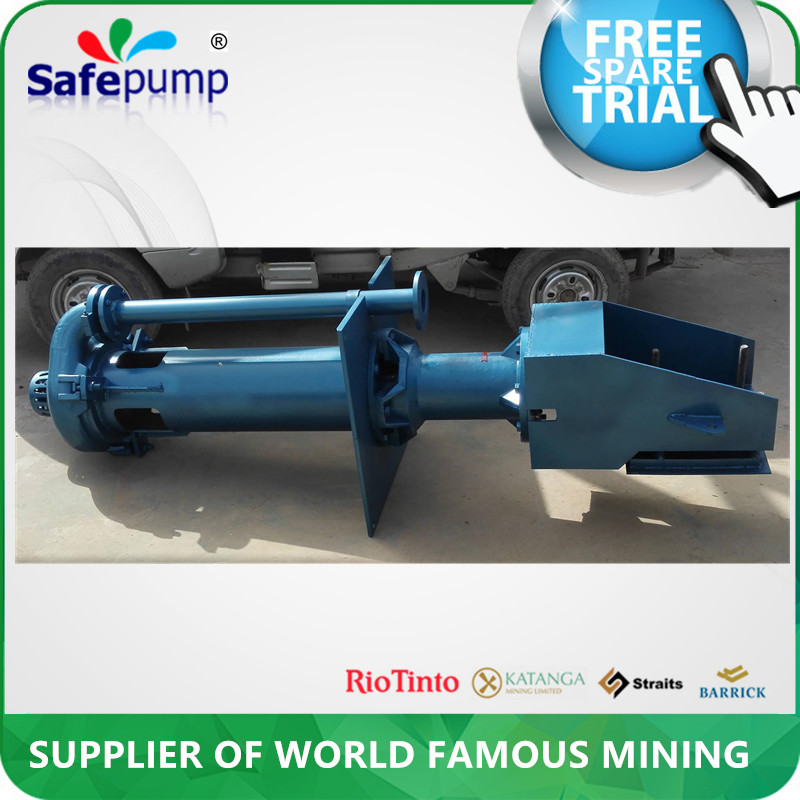 Mining submersible 2.6 inch vertical slurry pump