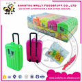 Luggage Toys With Assorted Fruity Compressed Candy