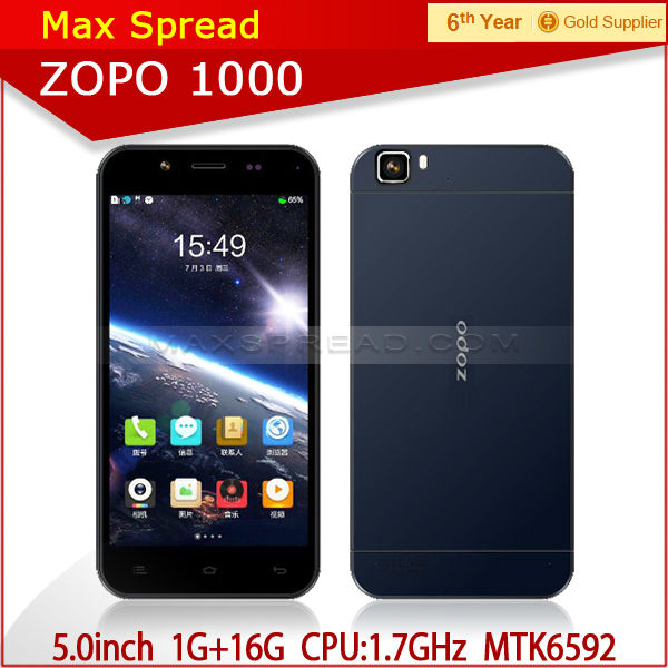 China Mobile Smartphones MTK6592 Octa-core 1.7GHz HD Screen 5.0Inch itel mobile phones