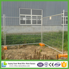 China supplier best price easy install galvanized temporary protable fence panels(australia)