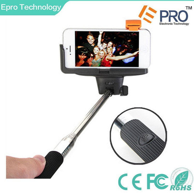 Selfie stick bluetooth, colorful bluetooth selfie stick on promotion