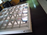 fluorescent raster lamp 4x18w louver fitting grille lamp