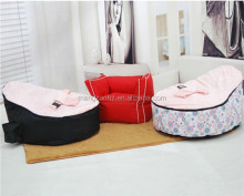 high quality infant baby bean bag chair for sleeping