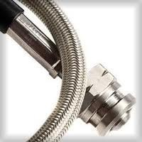 the lowest price DOT certificated stainless steel braided Teflon 1/8' brake hose