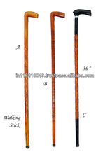 Wooden Handicraft - Walking stick