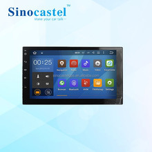 7Inch Double DIN Gps Navigation For Universal Car Backup Camera USB SD AM FM RDS Radio Bluetooth Stereo