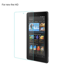 "9H Explosion Proof Tempered Glass for Amazon Kindle Fire HD Kids Edition 7 "" Screen Protector Anti Shatter slim Film Cover"