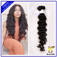 Beryl Hair New Arrival Beautiful hair,100 human hair weave,virgin peruvian hair extension loose wave