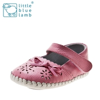 BB-B3502PK girls' summer soft leather baby sandals
