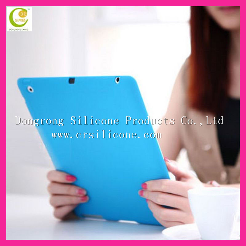 Top quality hot design tablet case For ipad 2/3/4,silicone case for ipad with low price