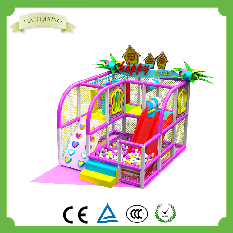 Interior funny candy theme baby Ball pool skateboarding equipment