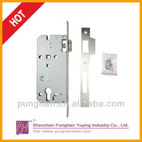 Standard Euro profile stainless steel fire proof european mortise lock
