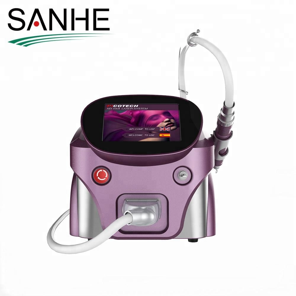 2017 1064nm 532nm 755nm Picosecond laser tattoo removal machine with low price for dark spots removal and skin rejuvenation