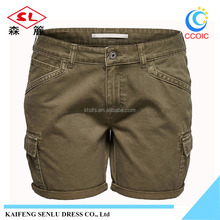 OEM supply factory price 65% Cotton 35% Polyester summer cargo shorts running men short pants