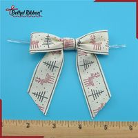 Super quality classical ribbon bows packaging with elastic loop