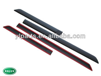 new top quality land rover doorside moulding fits for