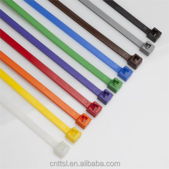 TTS 5*450 extra durablilty Self Locking Nylon Cable Ties, Plastic Tie Straps