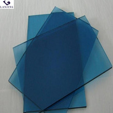 Competitive Price 6mm Weihai Blue Low-e Tempered Glass