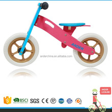 Brand NEW plywood Pink Children Girl's Toddler's wooden kids bikes