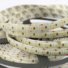 IP68 double row magnetic led strip lights 24v 3014 120w high lumen 10-12lm/chip